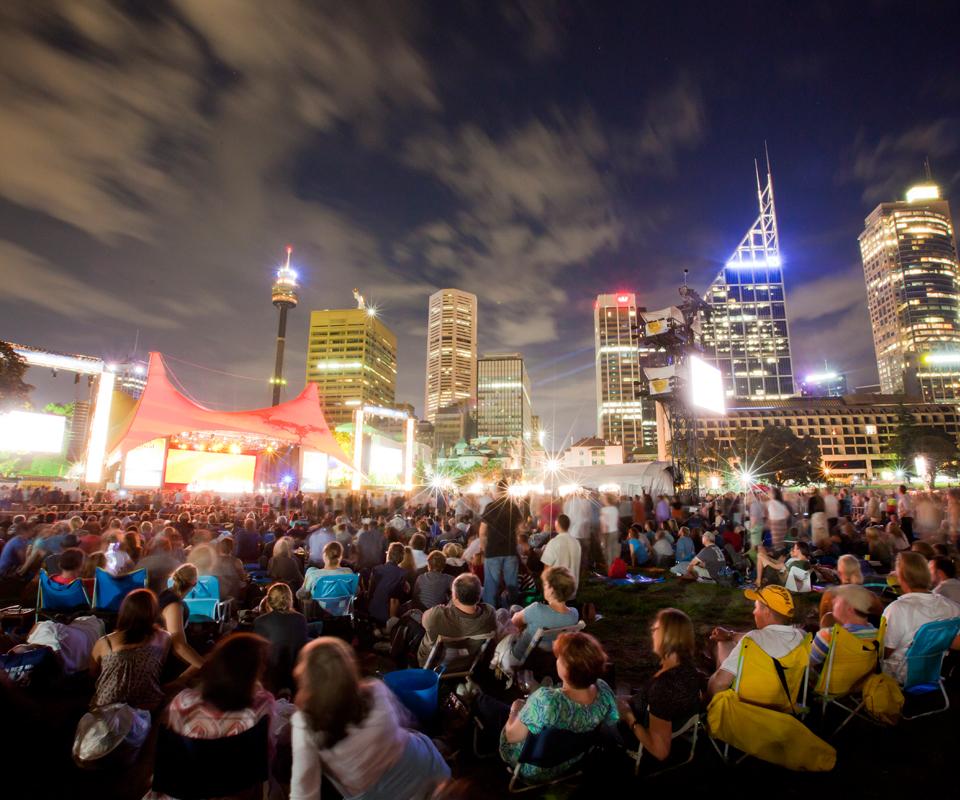 シドニーの大きなフェルティバル