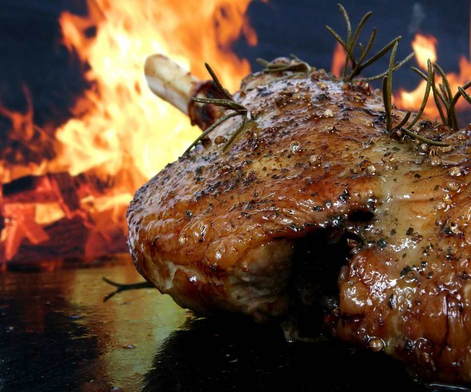 クリスマスはローストビーフを食べる