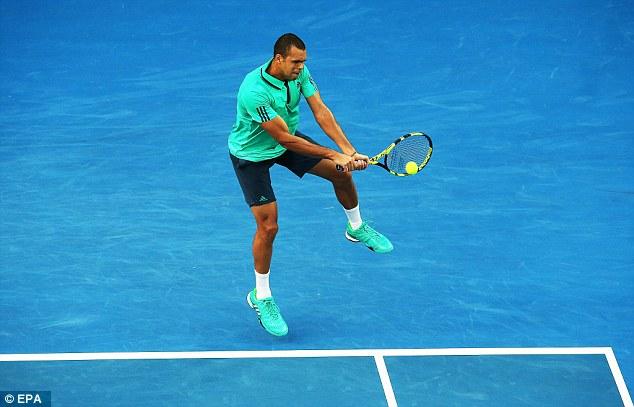 全豪オープンでのテニスプレーヤーの対応
