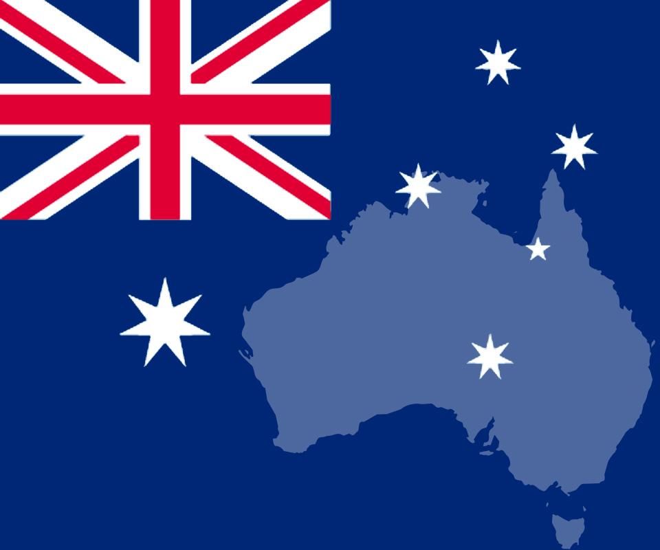 オーストラリア 大きさ 地図