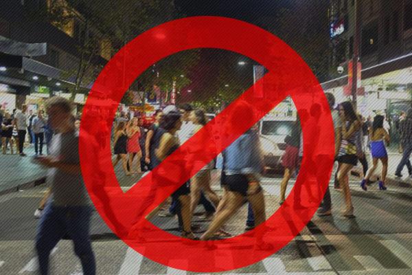 シドニーのライトライフの法律、ロックアウトロー