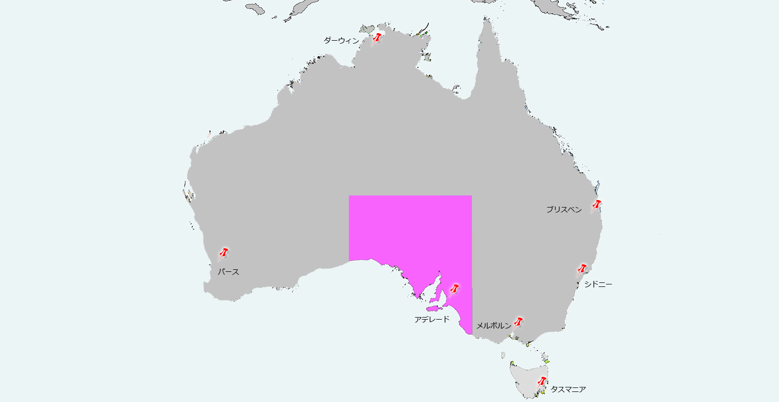南オーストラリア州のアデレード