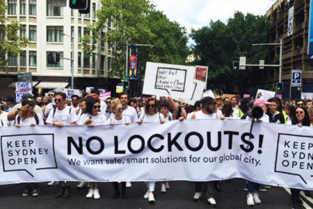 【速報】シドニーのナイトライフのデモに対する政府の動き!