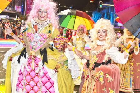マルディグラ、ゲイ・レズビアンによる世界最大級のイベント!