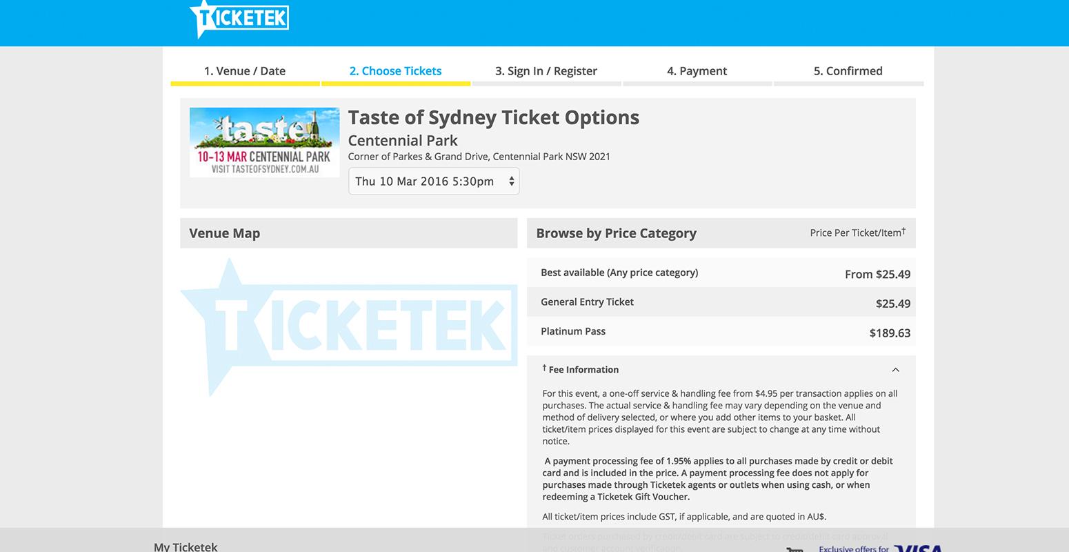 テイスト チケット 2P