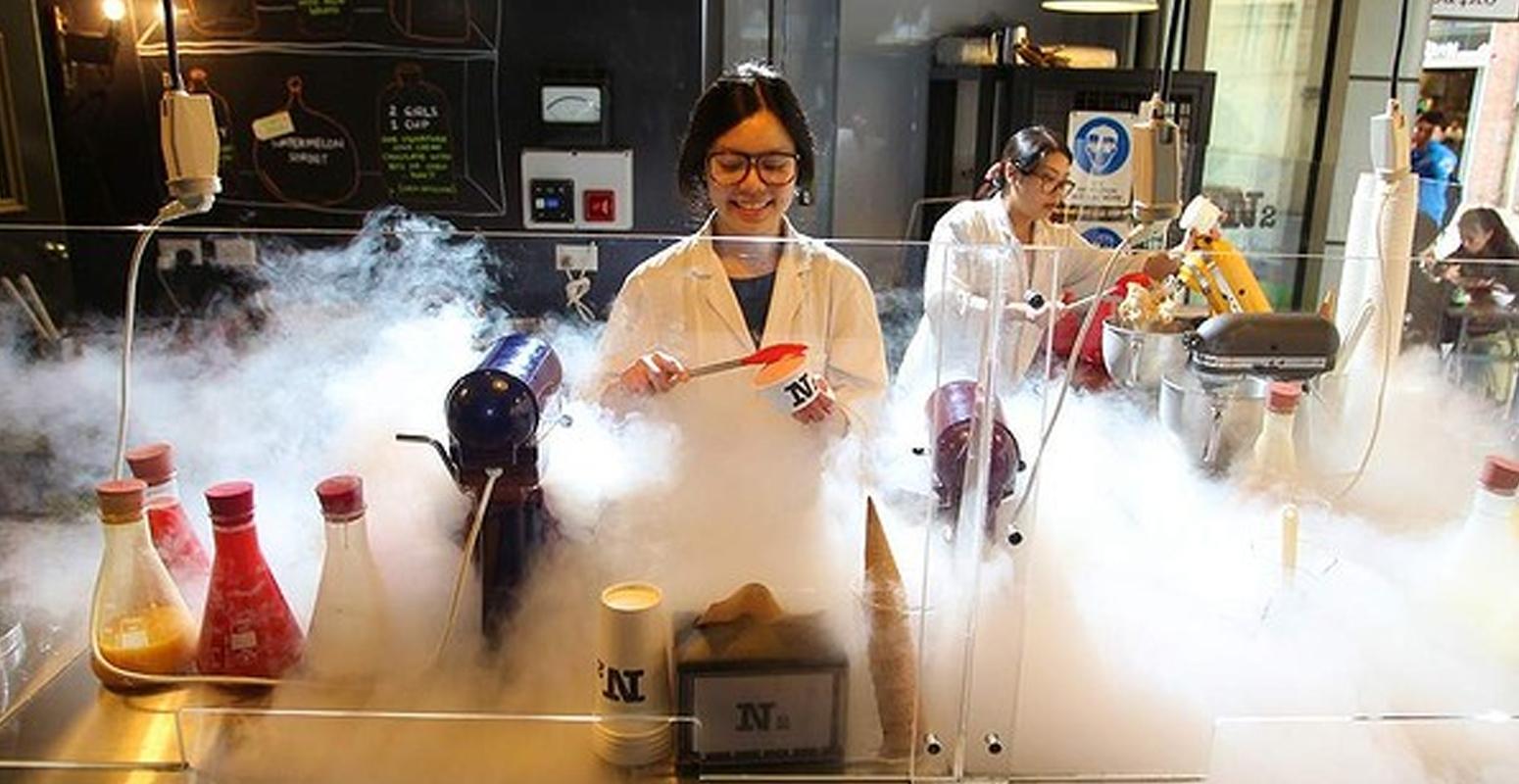 アイス 実験 N2 Extreme Gelato