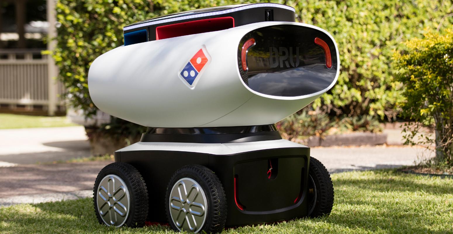 ドミノ ロボット デリバリー