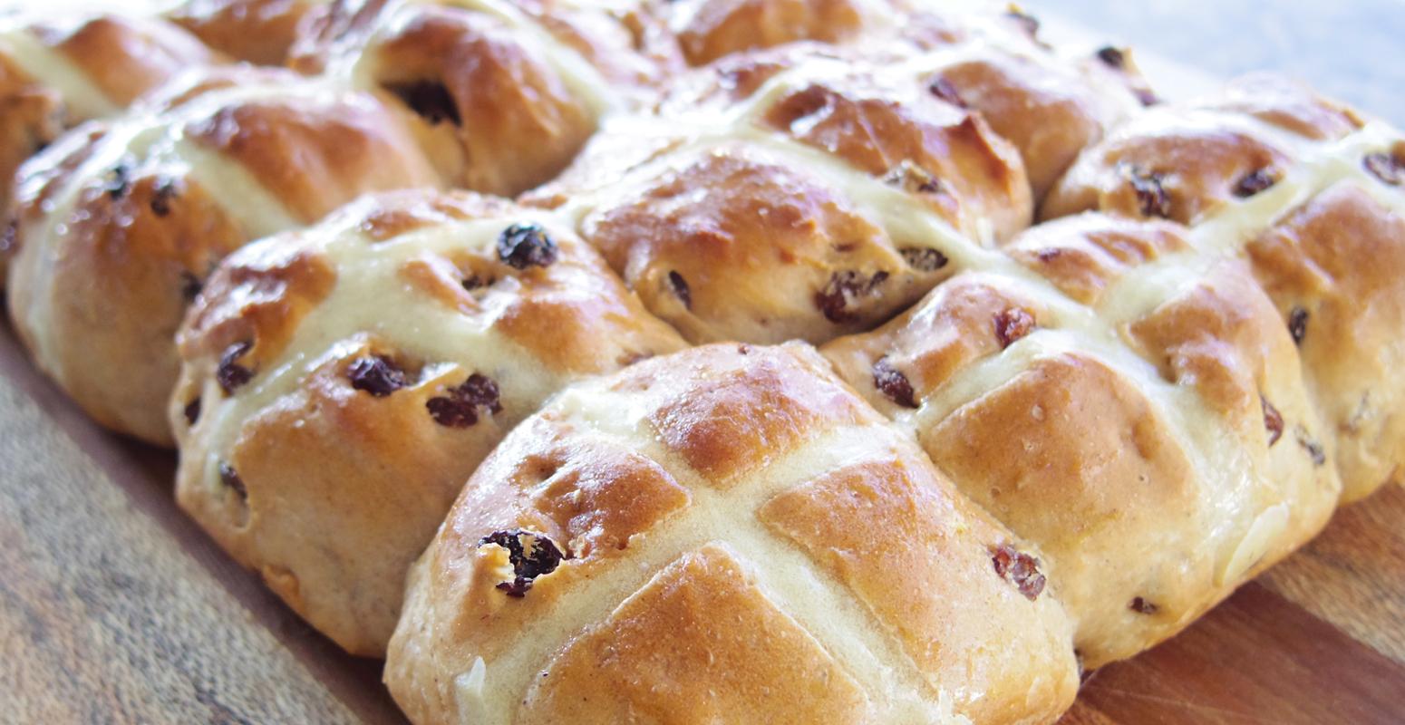 ホットクロスバン パン
