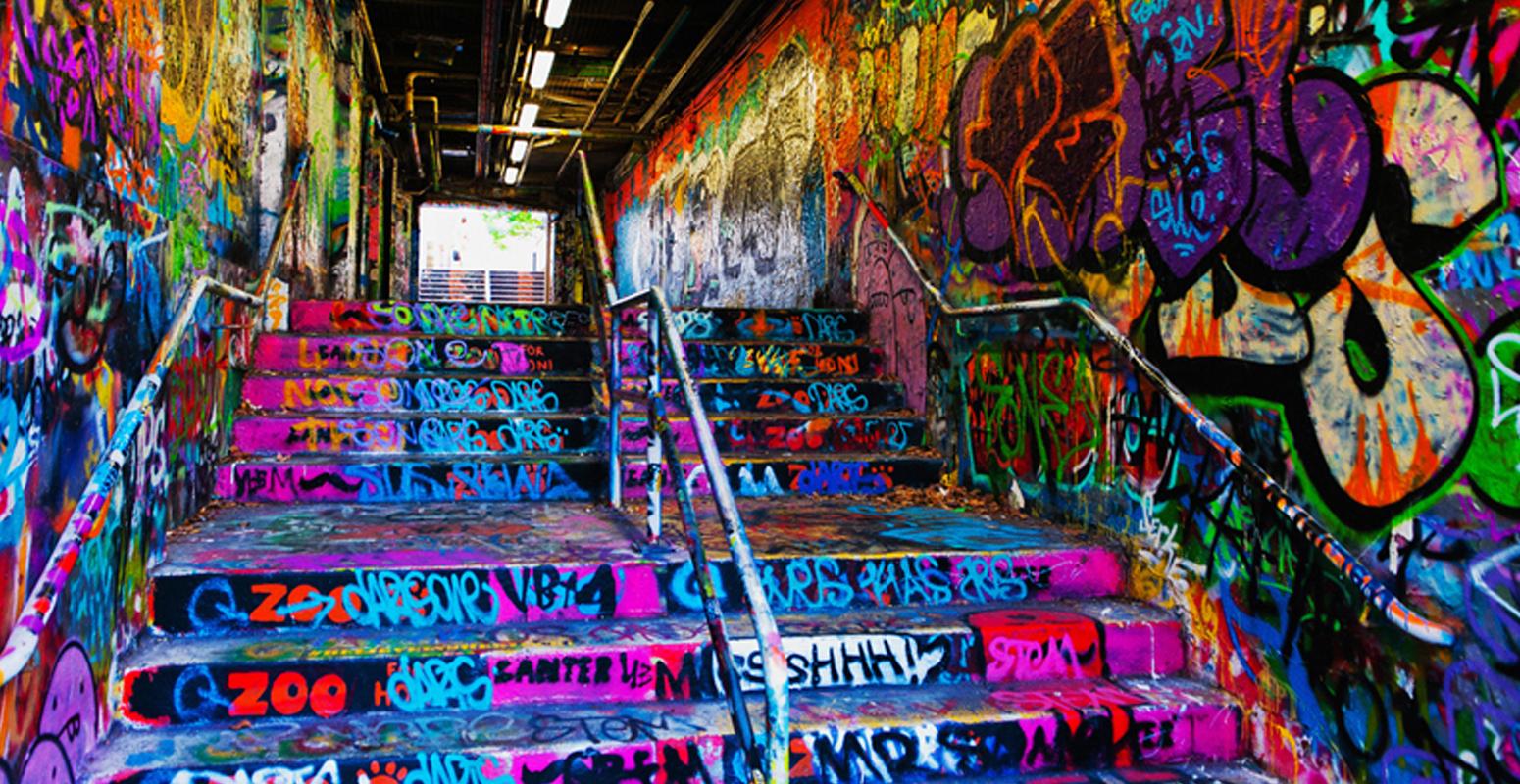 カラフル トンネル シドニー大学