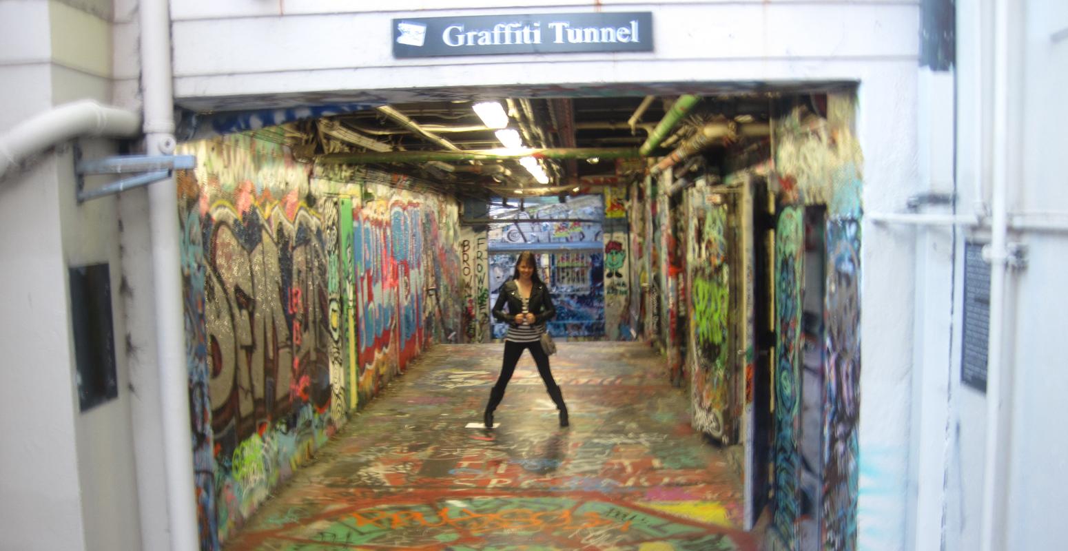グラフィティ トンネル 大学