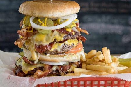 ハンバーガー クレイジー