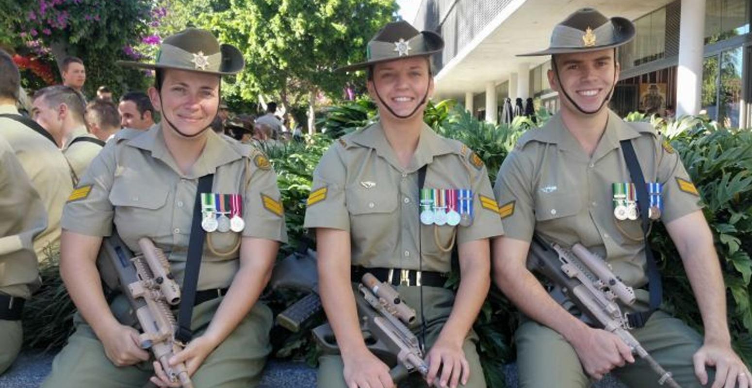 軍服 オーストラリア
