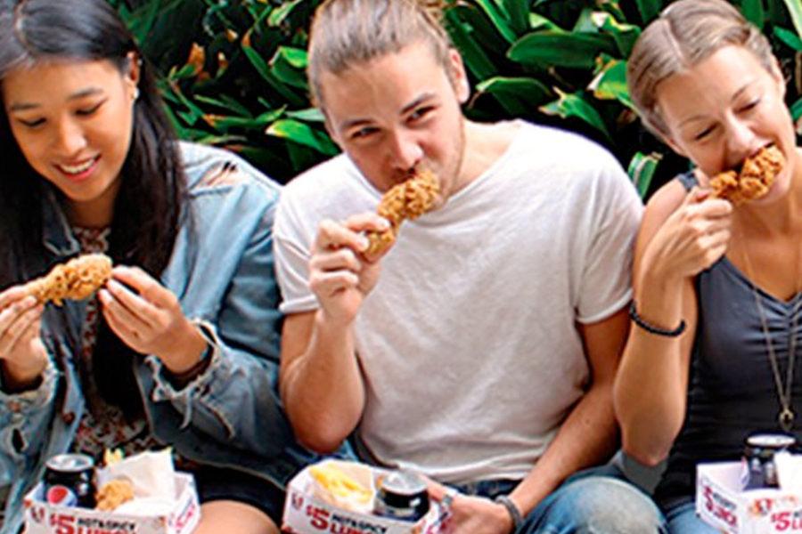 オーストラリアのケンタッキーがすぐに削除した画像www