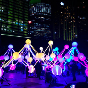 ビビッドシドニー、光と音楽のイベント