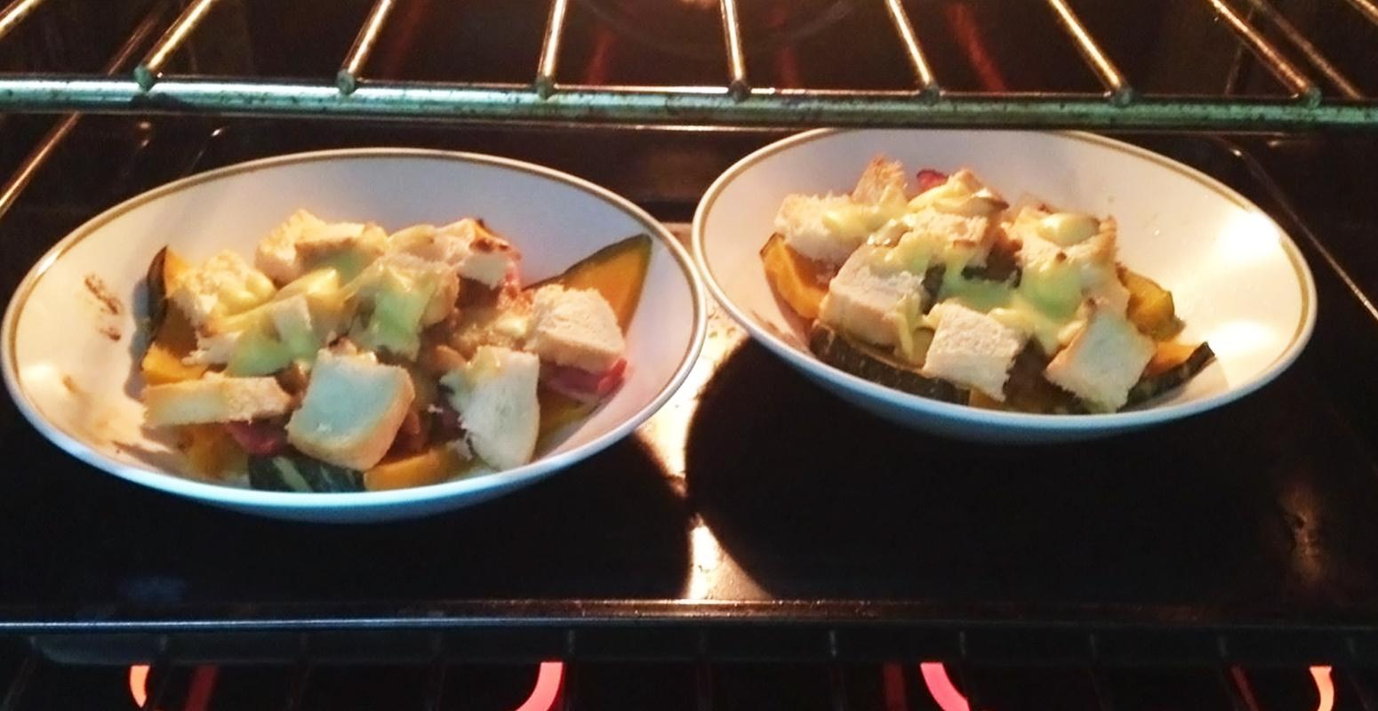 グラタン カボチャ 料理