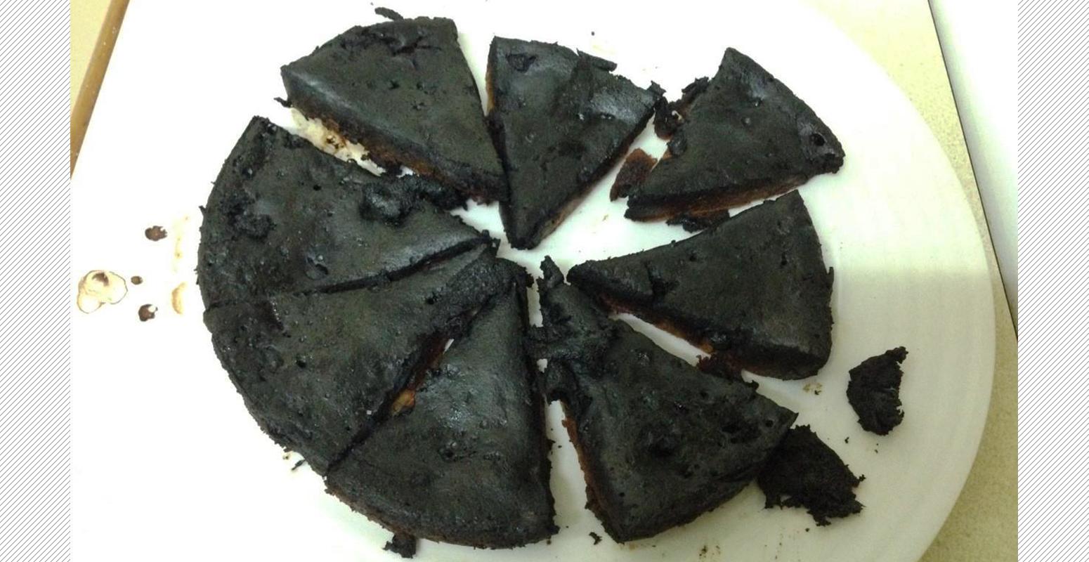 丸焦げ 失敗 オーブン