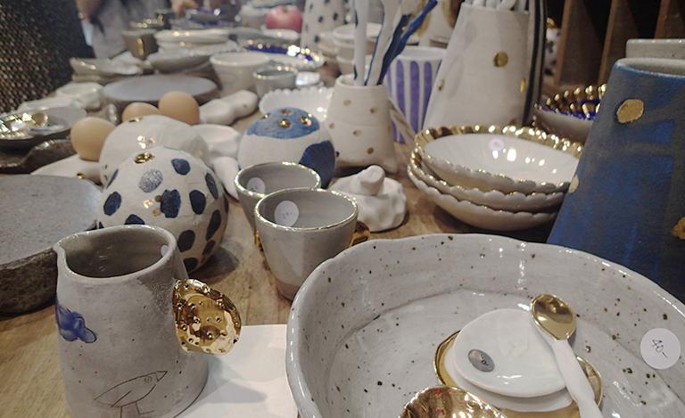 陶器 食器 ワークショップ