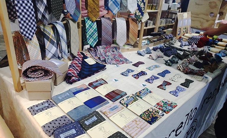 ネクタイ ブース ショッピング
