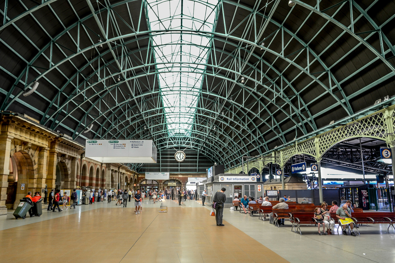 交通機関 シドニー 駅