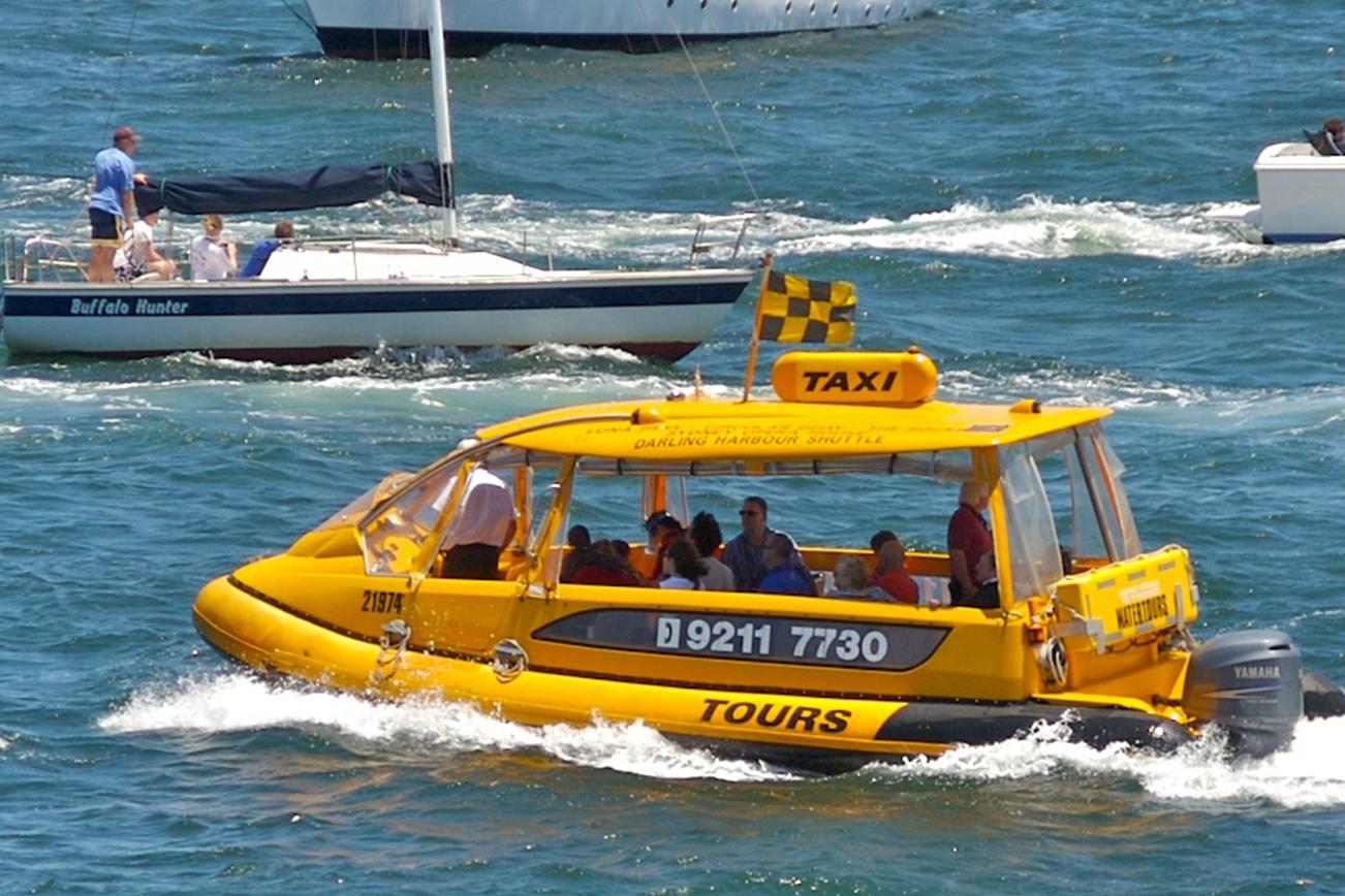 水上 タクシー