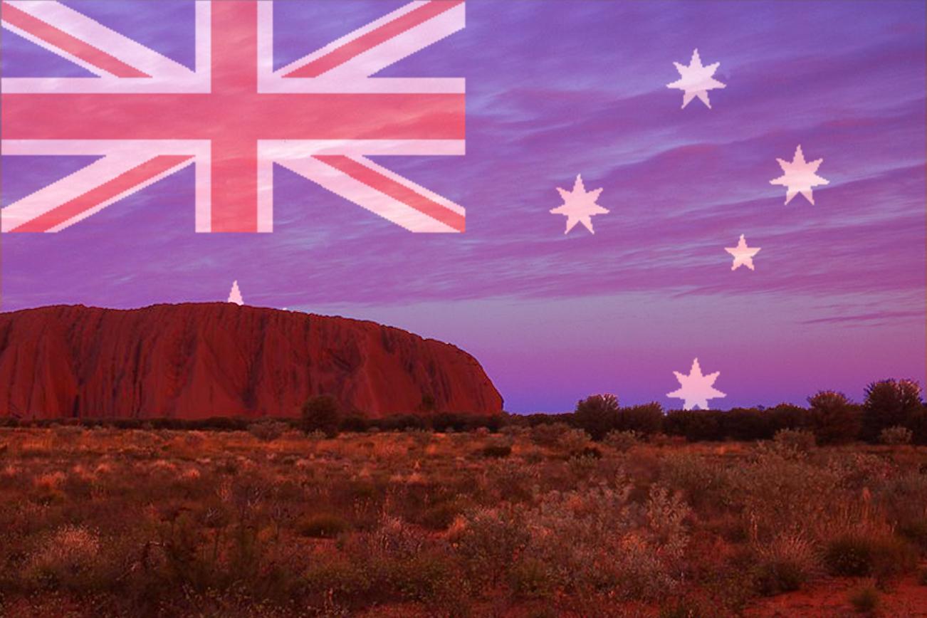 オーストラリア 歴史 国旗