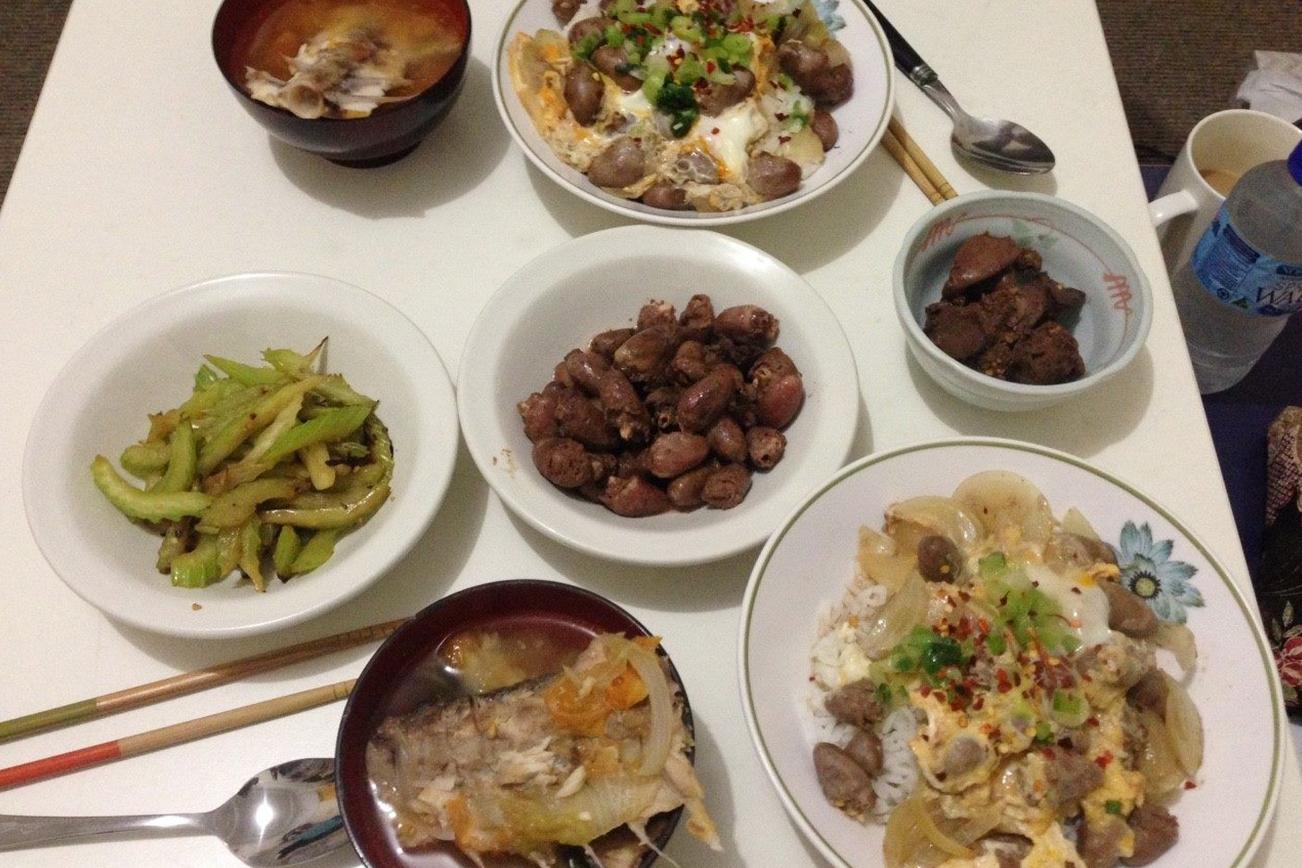 親子丼 スープ 日本食