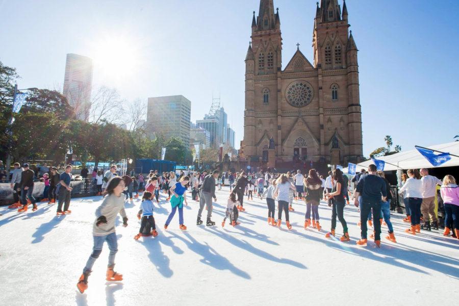 冬本番!シドニーにアイススケートリンクが出現!その他の地域にも?!