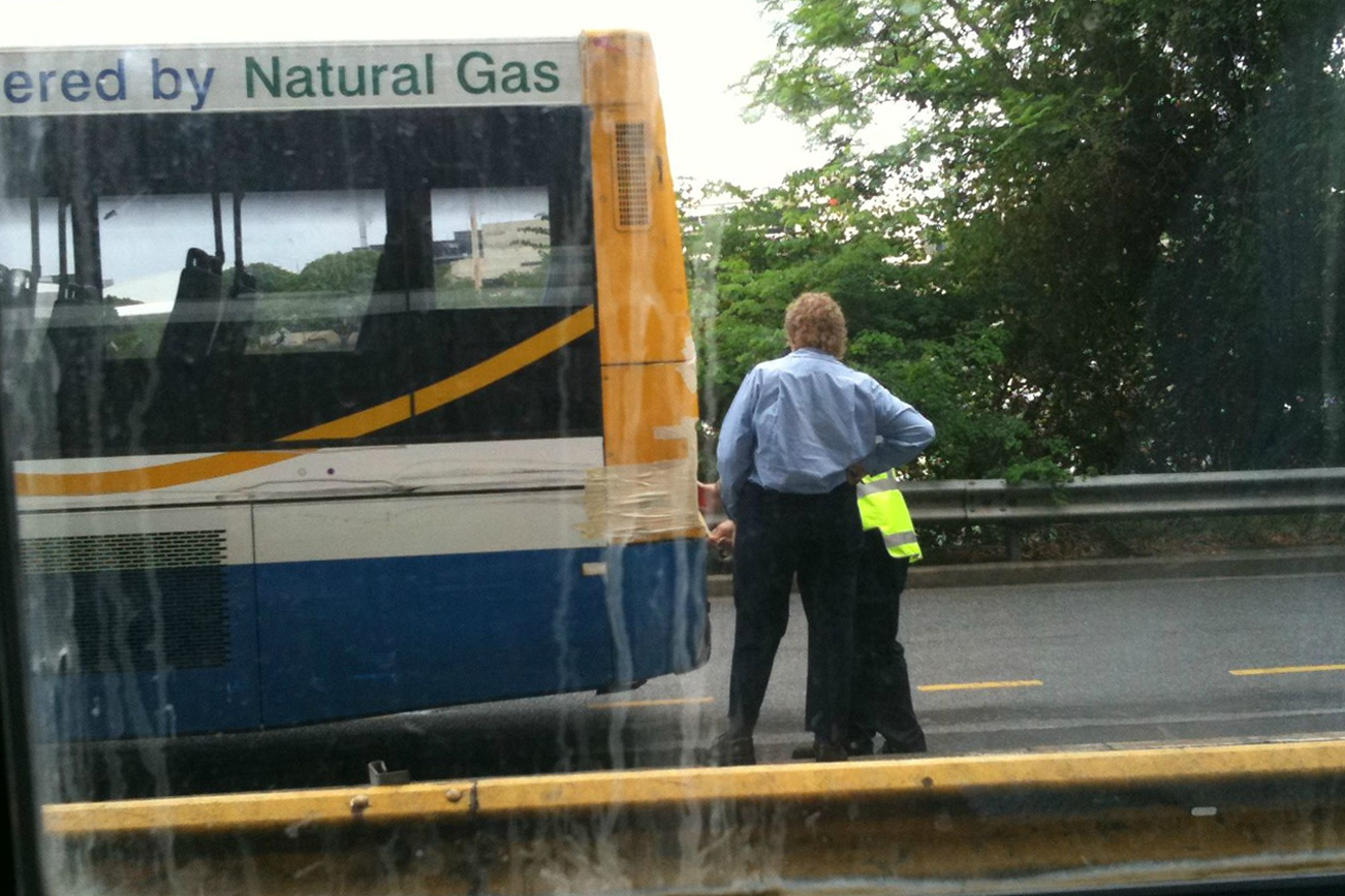 バス 修理