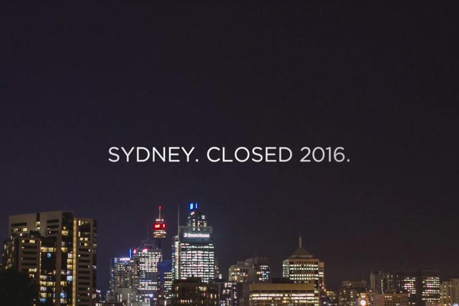 一目で分かる!シドニーの過疎化していくナイトライフを追った動画