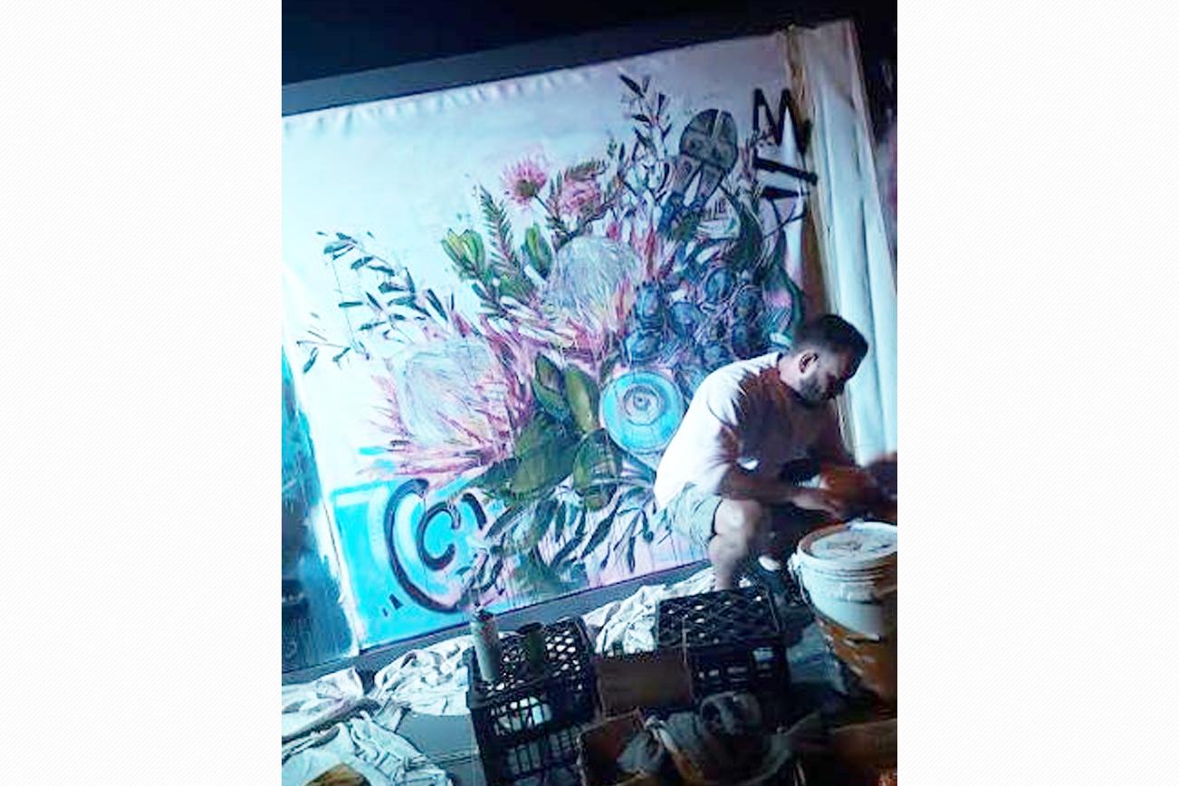 BEAMS ビームス 壁画