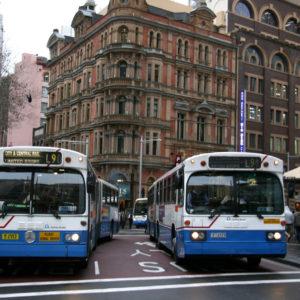 シドニーのバスの運行