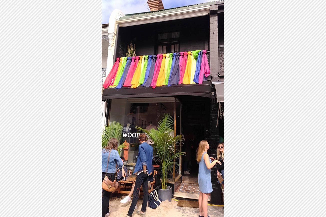 LGBTカラーのマーケット