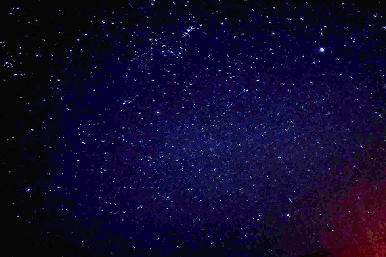 オーストラリアの星が綺麗