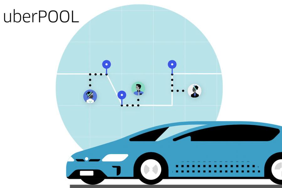 Uber Pool を使ってみました