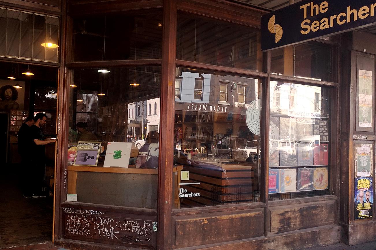 メルボルンのレコード店
