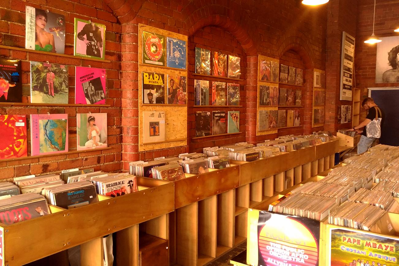 オーストラリアで日本のレコードが売っている