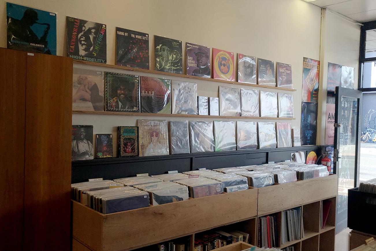 レコードの所有数が多いメルボルンのレコード店