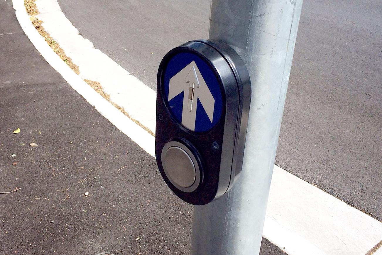 オーストラリアの横断歩道