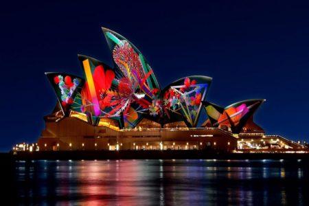 光の祭典 Vivid Sydney が 10周年 5月25日~6月16日まで開催!