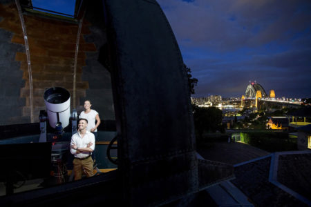 プラネタリウムが見れるシドニーの天文台