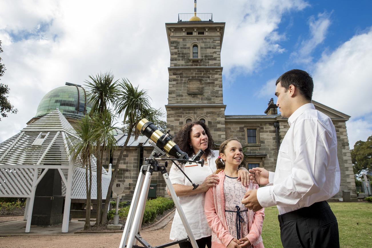 シドニー天文台のツアー