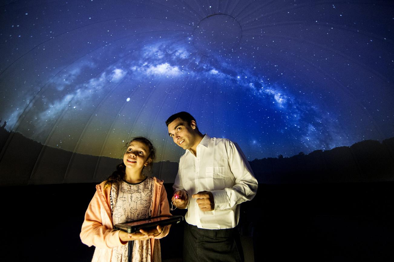 シドニー天文台のプラネタリウム