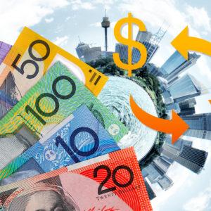 日本円とオーストラリアドルの両替