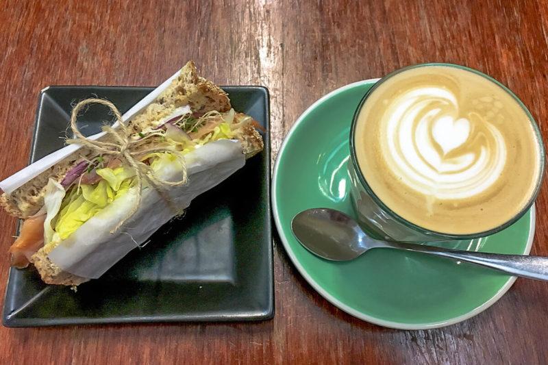 オーストラリアのカフェのご飯