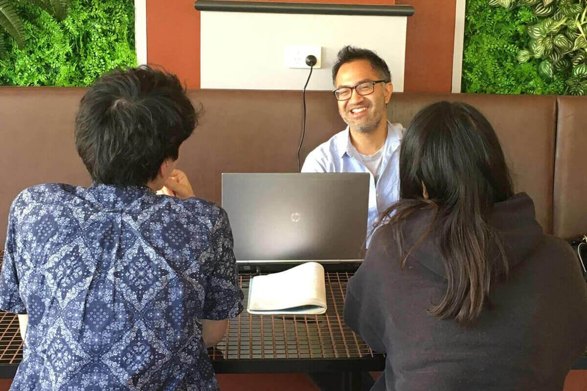 シドニーにて楽しく英語を話せる様になる、英会話教室