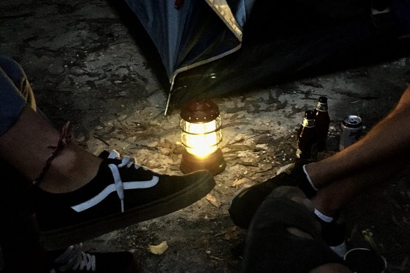 グレートオーシャンロード、キャンプ
